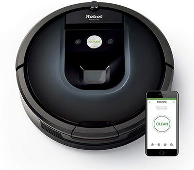 Aspirateur Roomba 981 robot du fabricant iRobot meilleur équipement pour la maison et l'intérieur