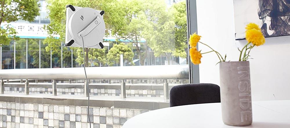 robot lave vitres