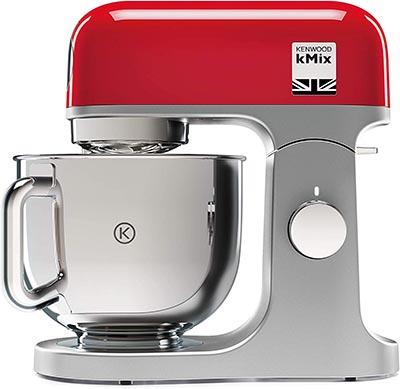 Robot 5 litres multifonction marque Kenwood kMix KMX750RD matériel pour réaliser les pâtisseries