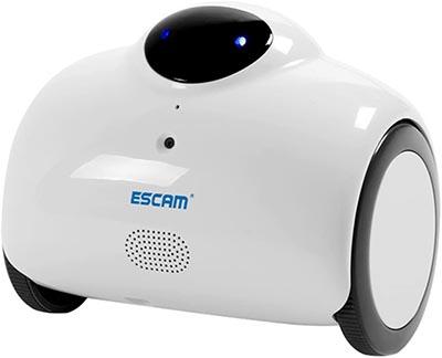 Robot Caméra avec WiFi ESCAM QN02 HD Baoblaze surveiller bébé